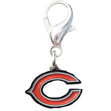 Chicago Bears Logo Dog Collar Charm