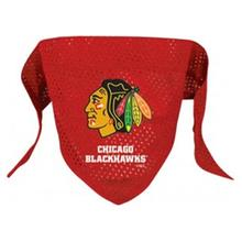 Chicago Blackhawks Mesh Dog Bandana - Red