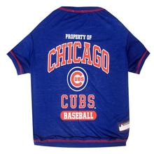 Chicago Cubs Dog T-Shirt - Blue
