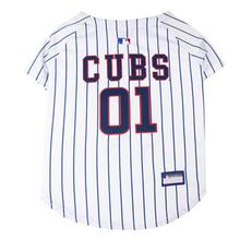 Chicago Cubs Officially Licensed Dog Jersey - Pinstripe