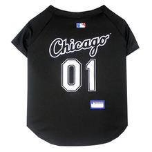 Chicago White Sox Officially Licensed Dog Jersey - Black