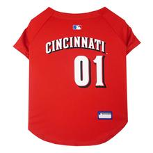 Cincinnati Reds Officially Licensed Dog Jersey - Red