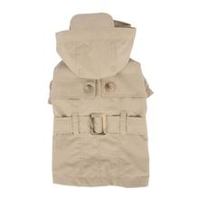 Claris Dog Trenchcoat by Pinkaholic - Beige
