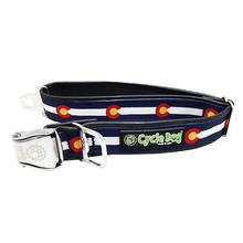 Colorado Metal Latch Dog Collar by Cycle Dog