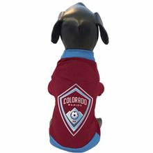 Colorado Rapids Athletic Mesh Dog Jersey