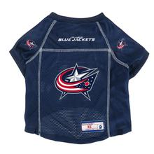 Columbus Blue Jackets Dog Jersey - Navy Blue