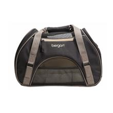 Comfort Dog Carrier - Black and Morel
