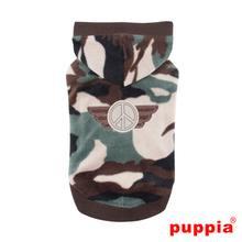 Corporal Hooded Dog Shirt by Puppia - Camo