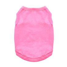 Cotton Dog Tank - Carnation Pink