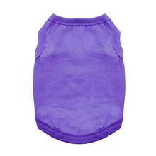 Cotton Dog Tank - Ultra Violet