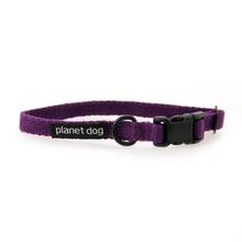 Cozy Hemp Collar by Planet Dog - Purple