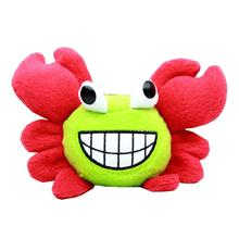 Crabby Little Dog Toy - Red
