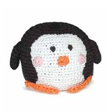 Penguin Crochet Ball Dog Toy by Dogo
