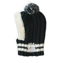Crown Knit Dog Hat by Hip Doggie - Gray