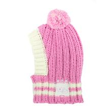 Crown Knit Dog Hat by Hip Doggie - Pink