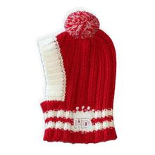 Crown Knit Dog Hat by Hip Doggie - Red