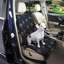 Pawprint Single Car Seat Cover - Black