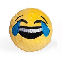 Emoji Faballs Dog Toy - Crying with Laughter