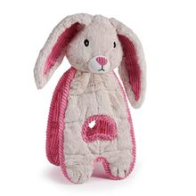 Charming Cuddle Tugs Dog Toy - Blushing Bunny