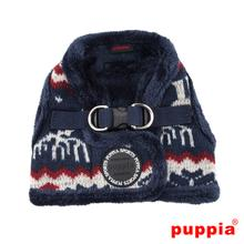 Cupid Dog Harness by Puppia - Navy