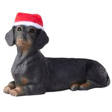 Dachshund Christmas Ornament - Black