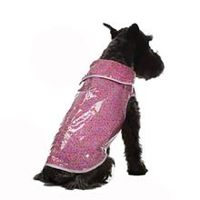 Daisy and Lucy Pink Calico Print Dog Coat