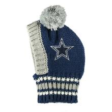 Dallas Cowboys Knit Dog Hat