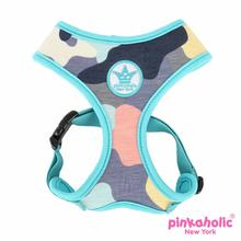 Delta Adjustable Dog Harness by Pinkaholic - Aqua