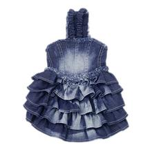 Denim Dog Sundress by Parisian Pet