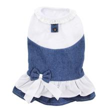 Denim Spring Dog Dress by Parisian Pet