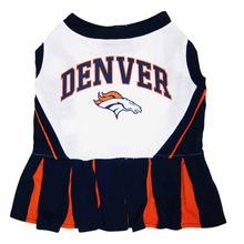 Denver Broncos Cheerleader Dog Dress