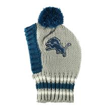 Detroit Lions Knit Dog Hat