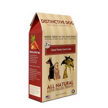 Distinctive Dog All Natural Dog Treats - Sweet Potato Carrot Cake