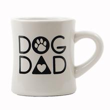 """Dog Dad"" Diner Mug by Dog Speak"