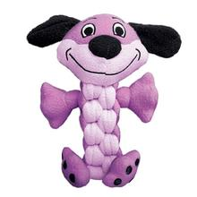 Kong Pudge Braidz Dog Toy - Dog