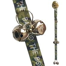 Doggie Dialogue Poochie Bells Dog Doorbell - Bad to the Bone Camo