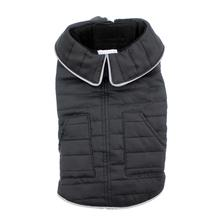 Doggy Wrappers Fleece Lined Winter Dog Coat - Black