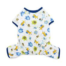 Dogo Zoo Dog Pajamas - Blue