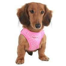 Dotty Dog Harness Vest by Puppia - Pink