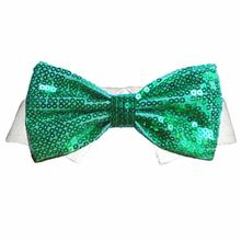 Dublin Dog Shirt Collar and Bow Tie - Green