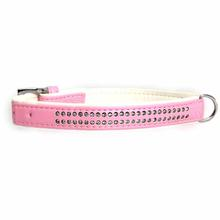 Sparkle Gemstone Dog Collar - Pink