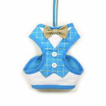 EasyGo Bowtie Dog Harness by Dogo - Blue