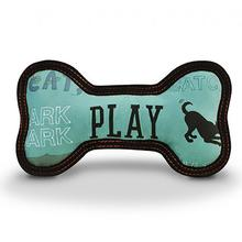 ECO P.L.A.Y. Bone Dog Toy - Powder Blue