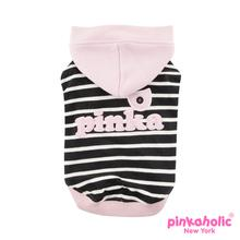 Eden Hooded Dog Shirt by Pinkaholic - Pink