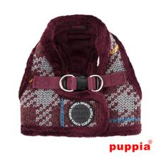Eldric Dog Harness by Puppia - Wine