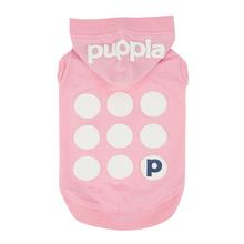 Emmy Hooded Dog Shirt by Puppia - Pink