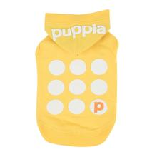 Emmy Hooded Dog Shirt by Puppia - Yellow