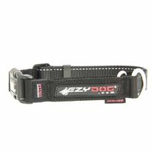 EzyDog Checkmate Limited-Slip Dog Collar - Black