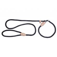 Fab Dog Mountain Rope Slip Leash - Black