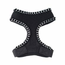 Fabuleash Boo Collection Chains Mesh Dog Harness - Black